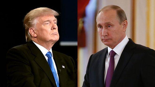 Time опубликовал портрет Путина и Трампа в одном лице - Фото