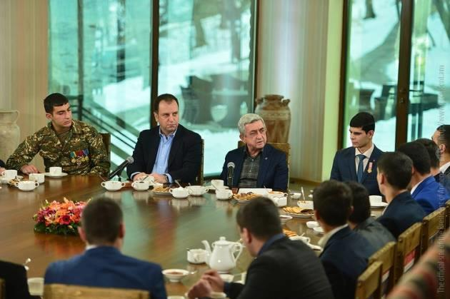 """Serj Sarkisyan: """"Azərbaycan hücuma hazırlaşır, biz isə müdafiəyə"""""""