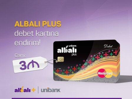 """""""Unibank""""dan pul qazandıran kart"""