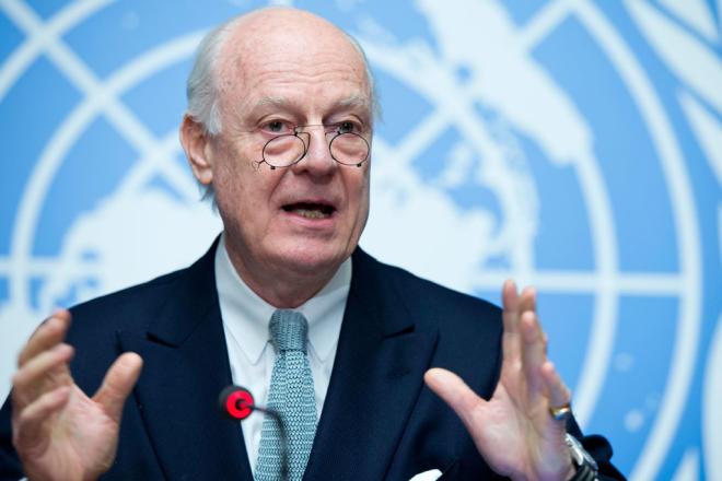 Де Мистура покидает пост спецпосланника ООН по Сирии