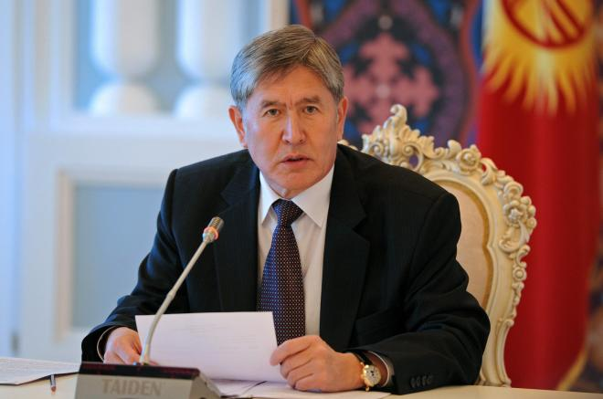 Атамбаев заявил о намерении покинуть страну