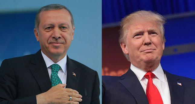 اردوغان و ترامپ کوروناویروسو موذاکیره ائتدی