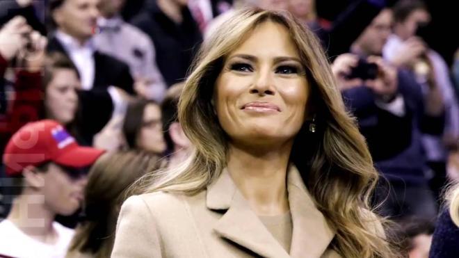 ترامپ آروادینی «دییشدی»: بو، مئلانییا دئییل! - ویدئو