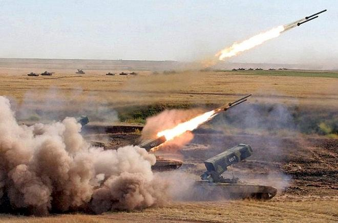 TOS-1A dealt a blow to the Armenians -