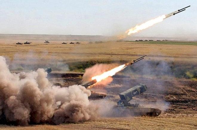 TOS-1A ermənilərə belə zərbə endirdi - Video