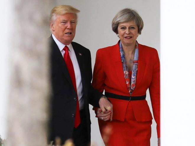 Трамп в июне посетит Британию