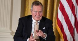 Former US President George H.W. Bush hospitalized in Maine