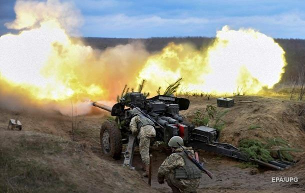 Ukrainian army strikes Donetsk