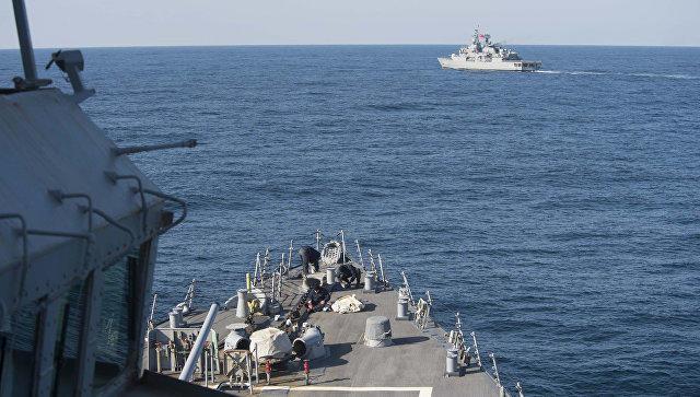 Группа кораблей НАТО зашла в порт Одессы