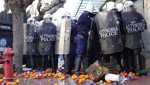 یونانلار آد داواسینا قالخدی – آفینادا هیجان