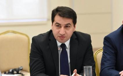 Хикмет Гаджиев провел встречу с завотделом МИД Германии