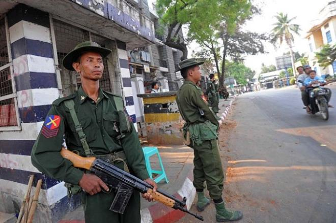 Myanmar police crank up pressure on anti-coup protesters
