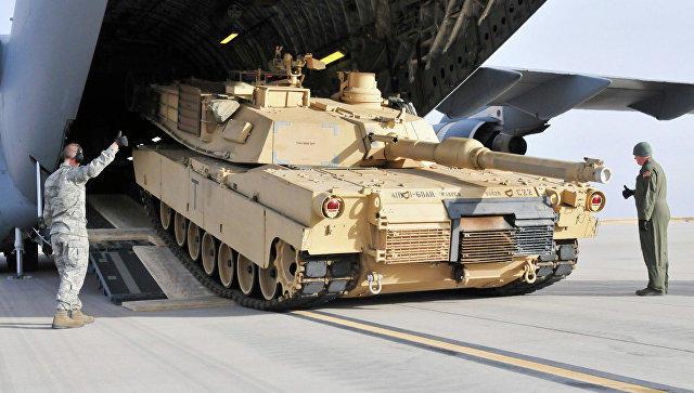 США начали переброску военной техники в Европу