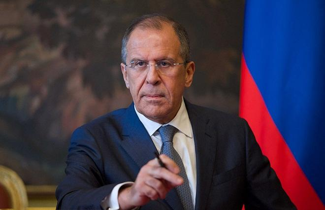 Russian foreign minister slams new EU sanctions on Iran