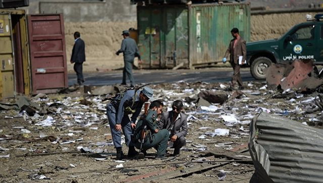 Deadly blast in Afghanistan - 17 dead