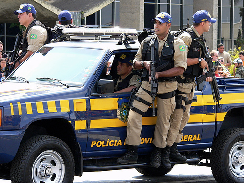 Brazil senator was shot in a stand-off with police