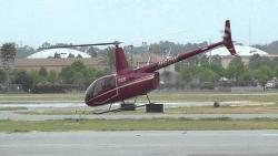Helicopter plunges into lake after hotel takeoff