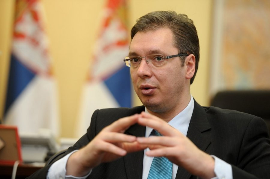 Serbian president says won't cancel visit to Russia