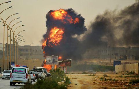 Взрыв в Багдаде: 7 погибших