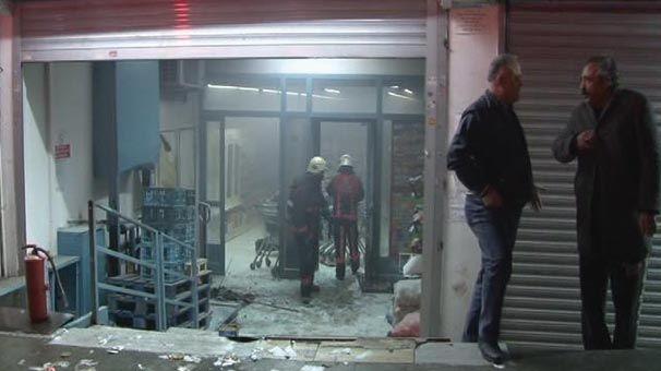 """AKP-nin ofisinə """"Molotov kokteyli"""" atıldı - Video"""
