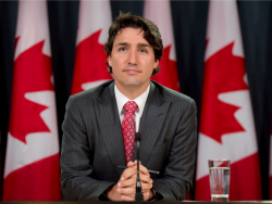 Canada's Trudeau says feeling positive about NAFTA talks