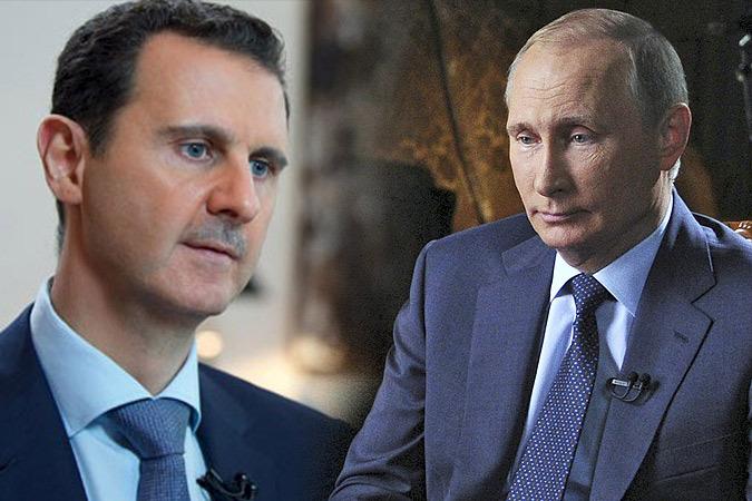 Путин и Асад обсудили Идлиб