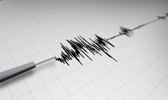 A strong earthquake shook Indonesia