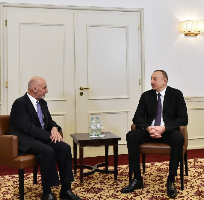 Afghan President makes a phone call to Ilham Aliyev
