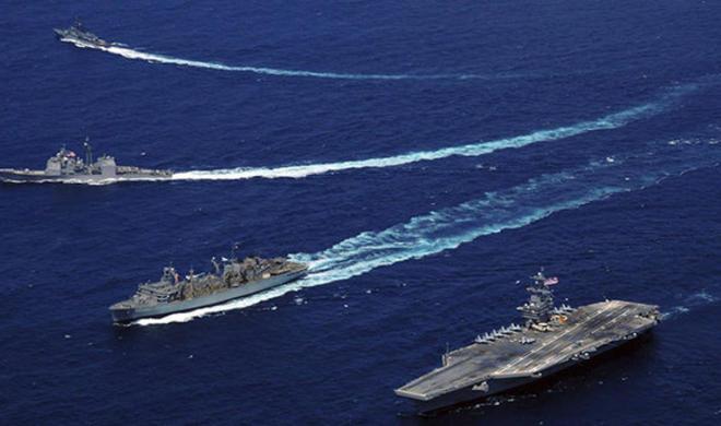 US aircraft carrier starts patrolling S.China Sea