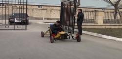 Göyçaylı gənc yeni avtomobil modeli ixtira etdi - Video