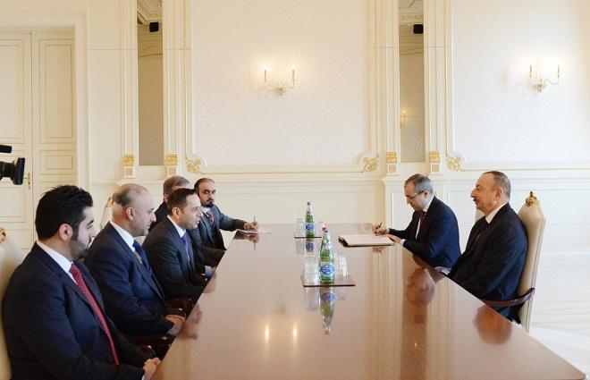 Ilham Aliyev received Education Minister of Qatar
