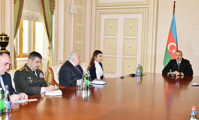 Ильхам Алиев рассказал о Мехрибан Алиевой