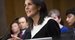 US ambassador to UN expresses condolences