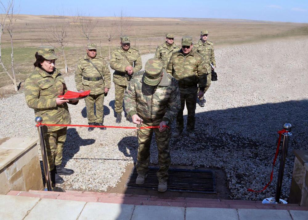 Министр на открытии нового центра на фронте - Фото