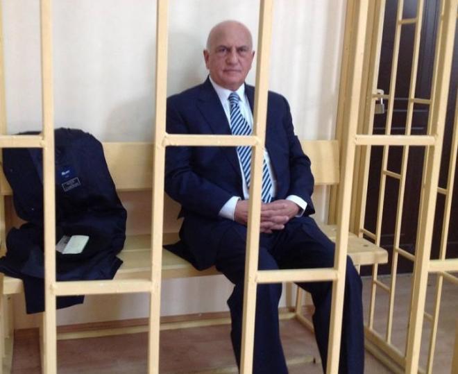 Али Инсанова не выпустили под домашний арест