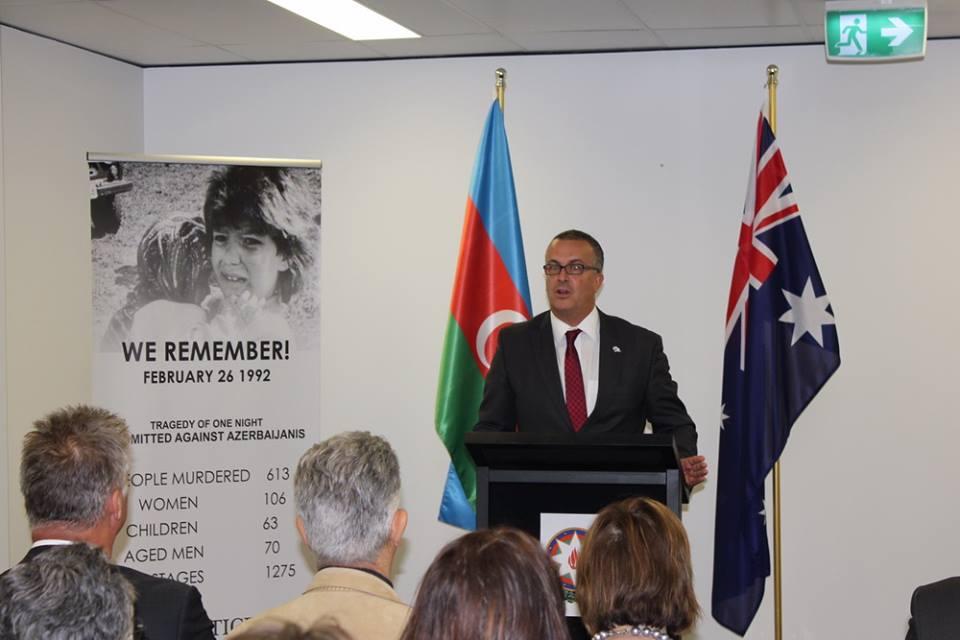 В Австралии почтили память жертв Ходжалы