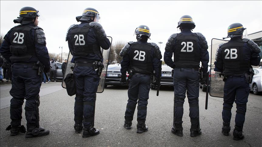 Задержаны подозреваемые в покушении на Макрона