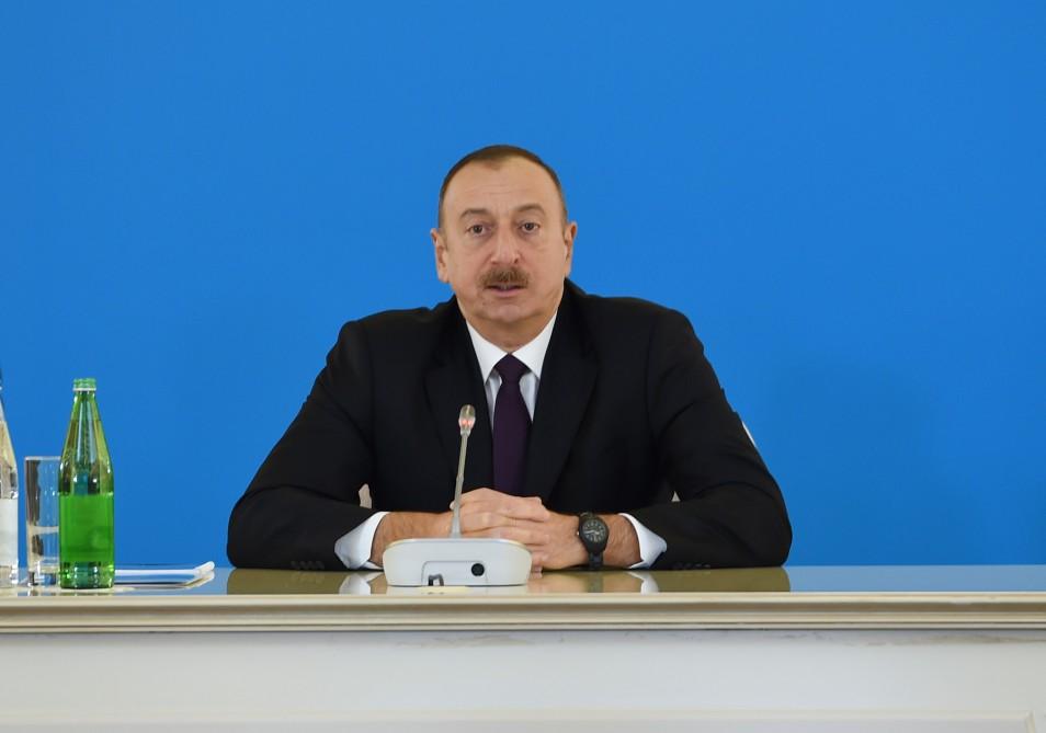 Mənim çağırışımdan sonra onlar bu işə qoşulub - Prezident