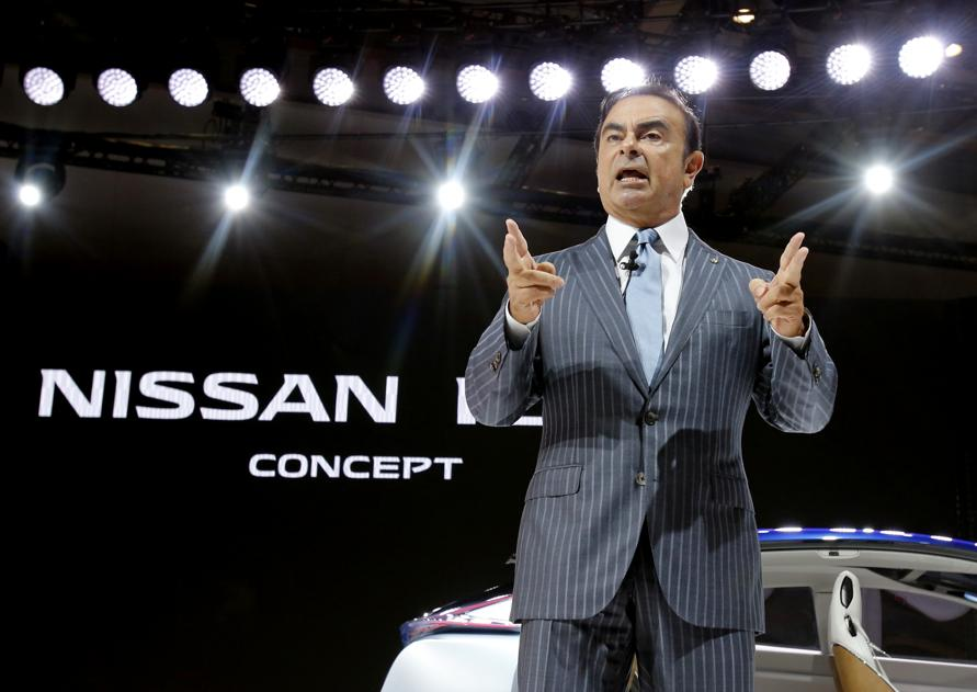 Nissan says Ghosn representatives took documents