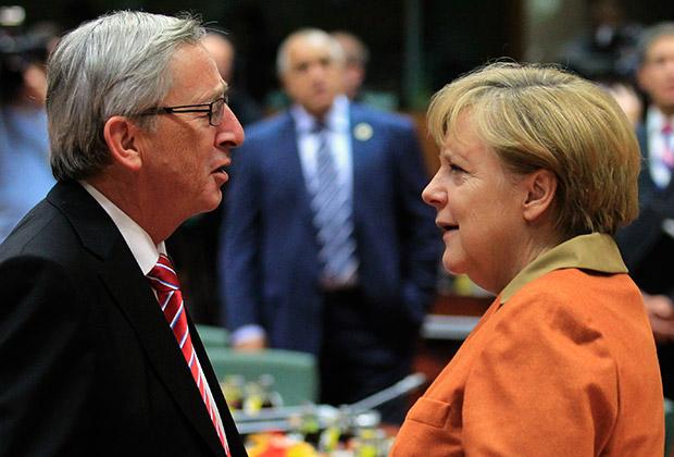 Меркель и Юнкер обсудили будущее ЕС
