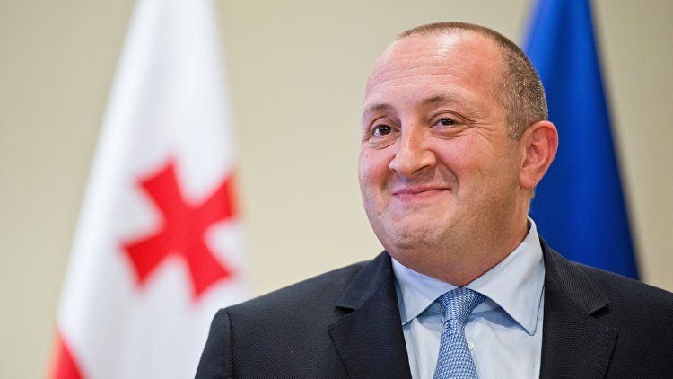 Президент Грузии стал отцом в третий раз