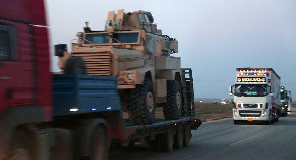 ABŞ PKK-ya zirehli texnika göndərdi - Foto