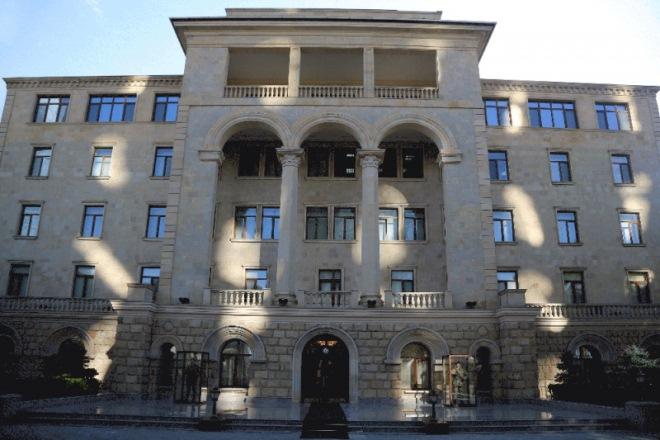 Минобороны опровергло информацию армян