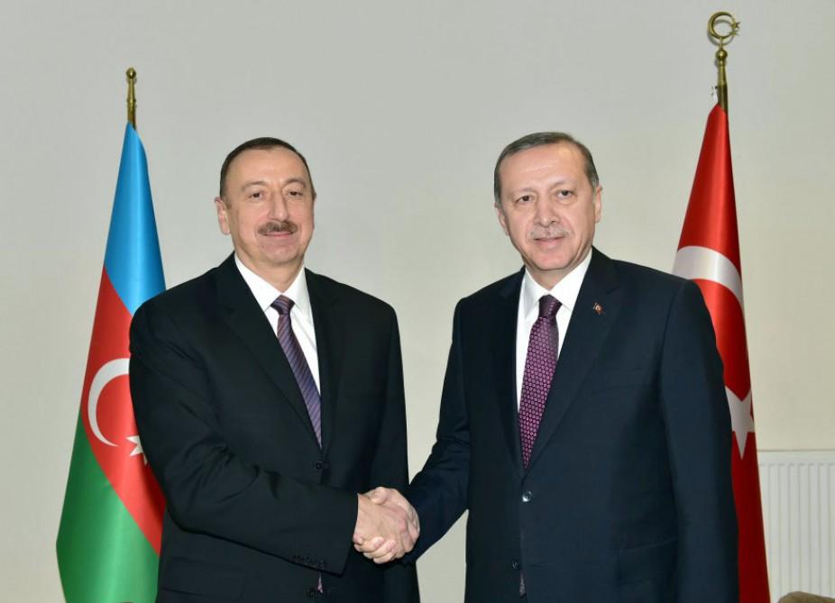 Erdogan congratulates Azerbaijani President Ilham Aliyev