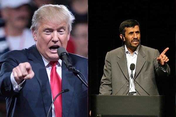 احمدینژاد ترامپا مکتوب گؤندردی