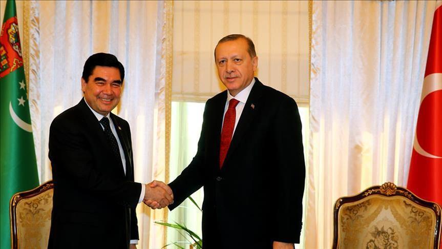 Эрдоган пригласил Бердымухамедова на саммит ОЭС