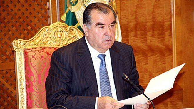 Tajikistan's president awarded with 'El-yurt hurmati' order