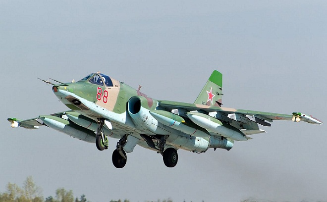 اوکراینا هوجوما هازیرلاشیر: ۴ سو-۲۵ گؤندریلدی