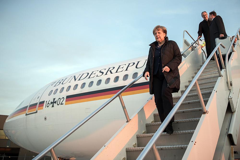Merkel Bakıya gəldi