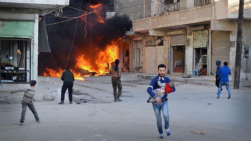 سورییادا تئراکت: اؤلنلر وار